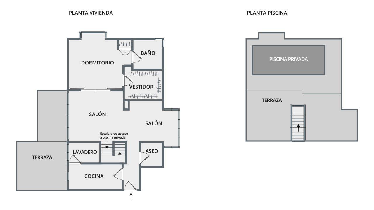 Fotografía inmobiliaria plano (Madrid)