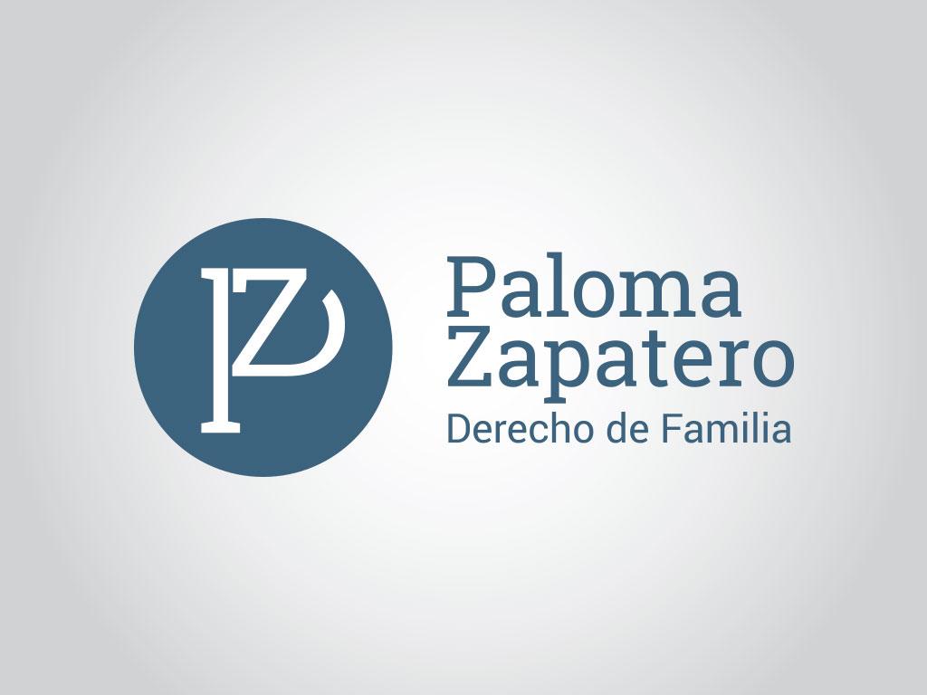 logo Paloma Zapatero Abogada