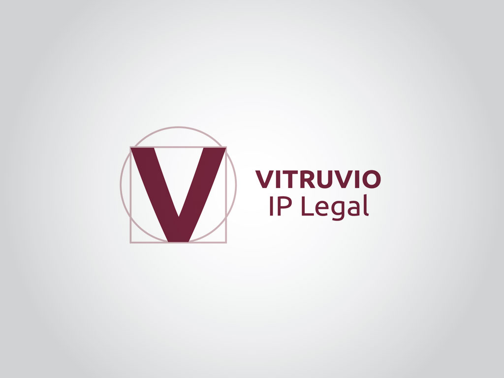 logotipo consultores propiedad intelectualVitruvio IP Legal