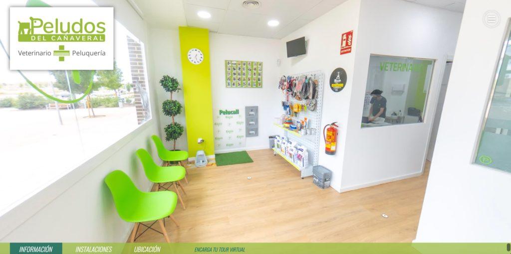 tour virtual clínica veterinaria Madrid